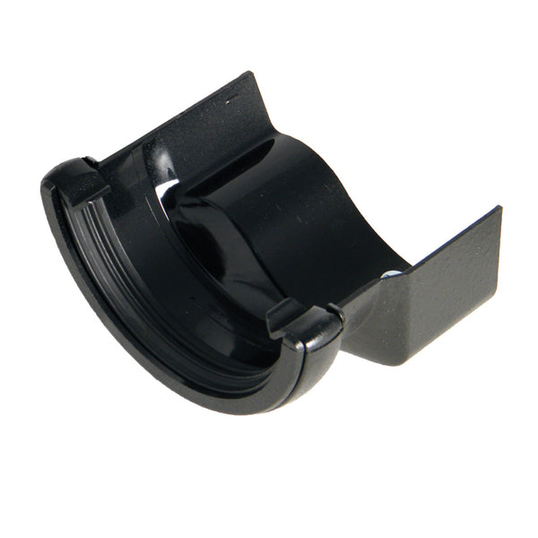 "RD3CI - Floplast  ""Cast Iron"" Style Half Round to Cast Iron Ogee Gutter Adaptor - Right handed"