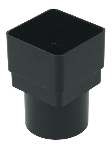 RDS2 - Floplast 65mm Square Pipe to 68mm Round Pipe Connector