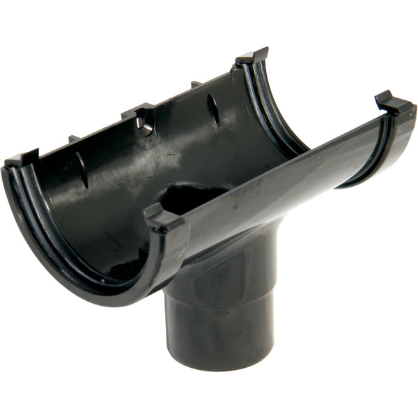 ROM1 - Floplast 76mm MiniFlo Running Outlet - Connects to 50mm Round Downpipe