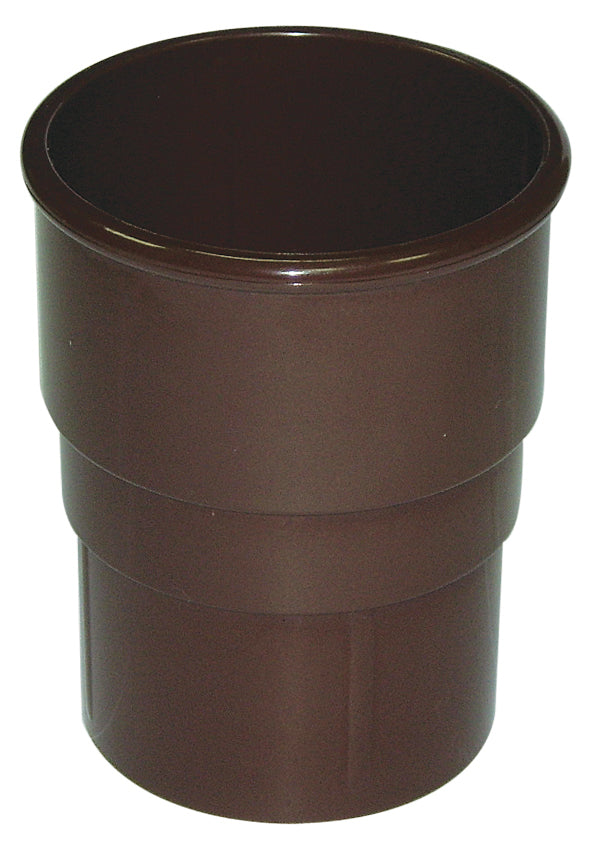 RS1 - Floplast 68mm Round Downpipe Pipe Socket