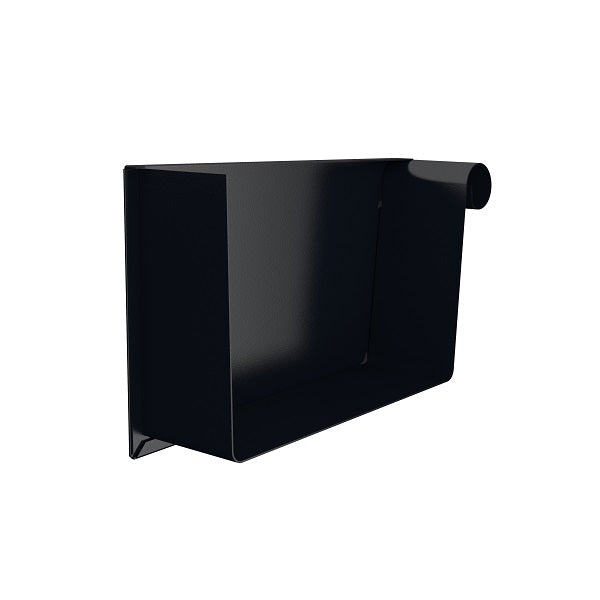 Lindab Steel Rectangular Gutter Stop End - Right Hand