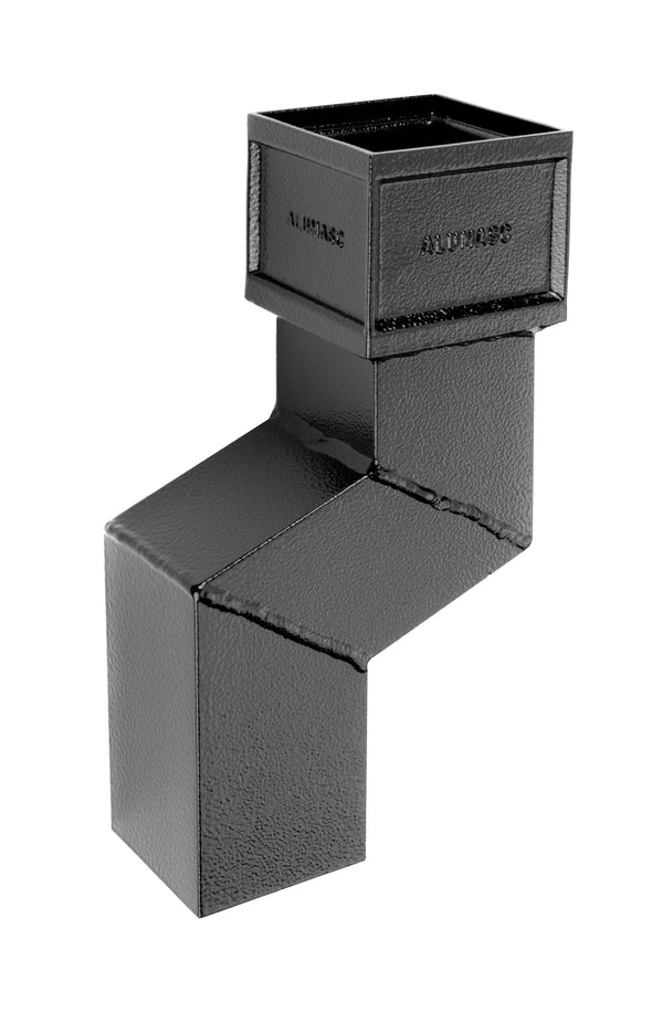 Alumasc Heritage Cast Aluminium Square/Rectangular Plinth Offset 112.5 Degree - 75mm Projection
