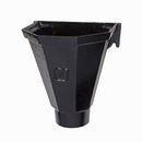 Cast Iron Rainwater Head - Flat Back  210mm x 163mm x 195mm
