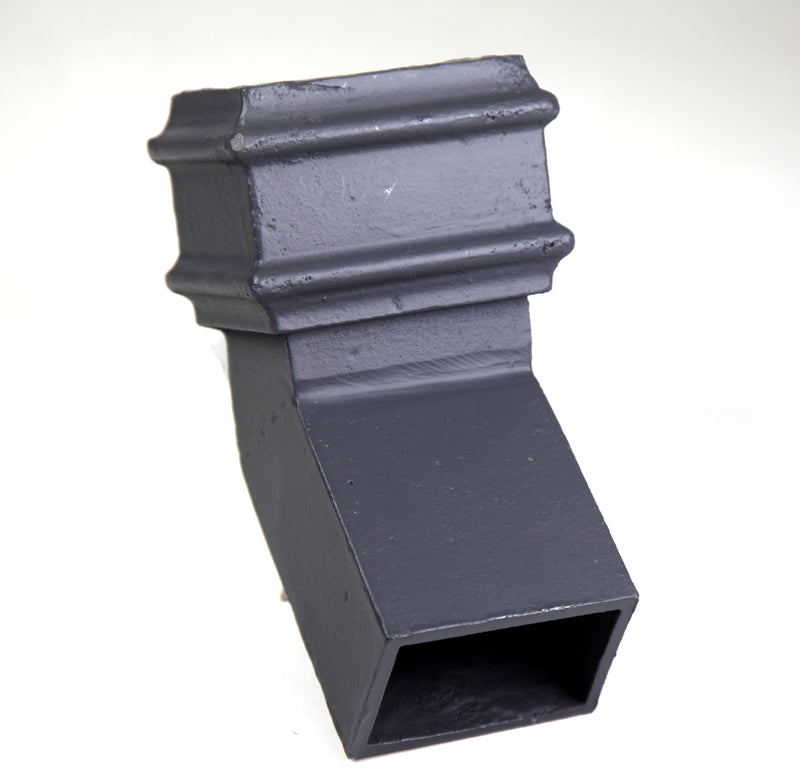 Cast Iron Rectangular 135 Degree Front Bend