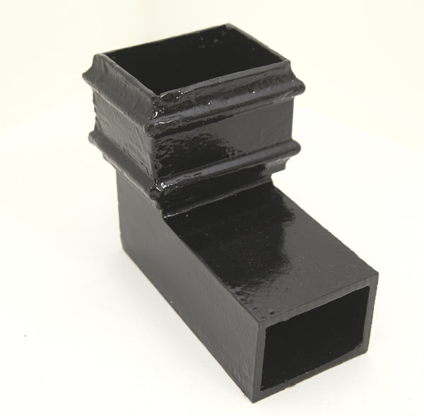Cast Iron Rectangular 92.5 Degree Front Bend