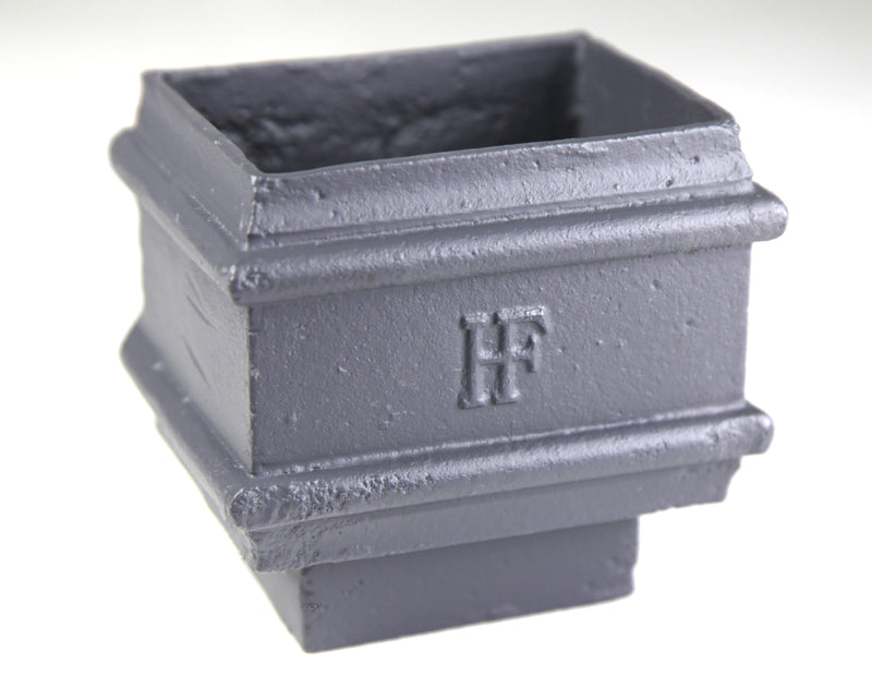Cast Iron Rectangular Plain Loose Socket - With Spigot