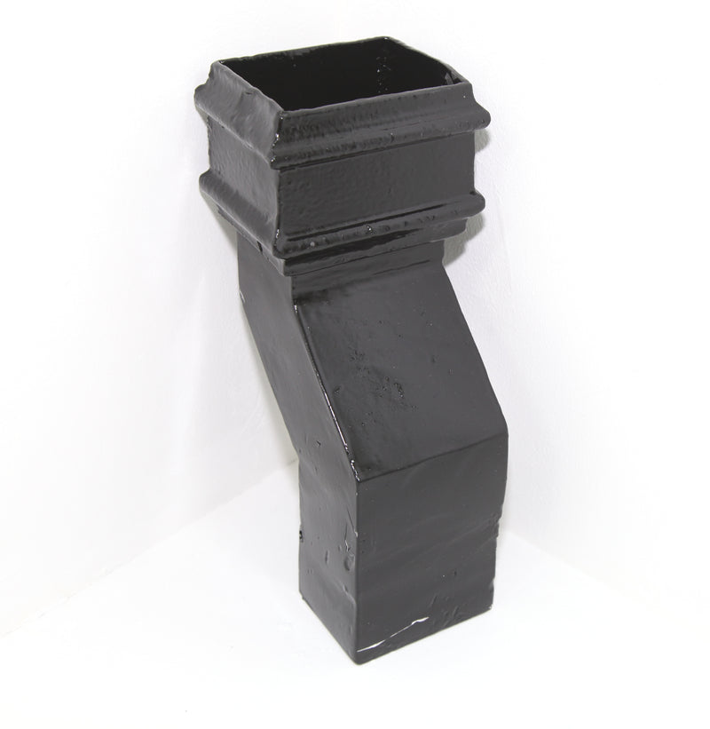 Cast Iron Rectangular Plinth Offset 135 Degree