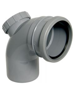 SP169 - Floplast 110mm Pipe Access Bend- 92.5 Degree