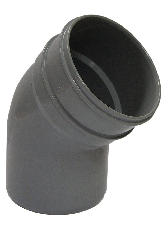 SP435 - Floplast 110mm Pipe Bottom Offset - 135/45 Degree