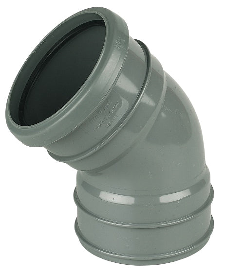 SP440 - Floplast 110mm Pipe Top Offset - 135/45 Degree