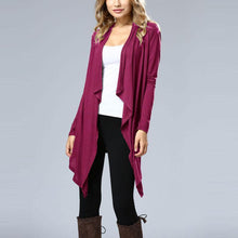 Load image into Gallery viewer, Pure Color Long Sleeve Bat Cardigan