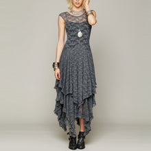 Load image into Gallery viewer, Bohemia Fashion Sexy Lace Irregular Beach Vacation Dress