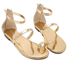 Load image into Gallery viewer, Fashion Pure Color Flat Sandals