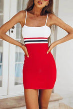 Load image into Gallery viewer, Spaghetti Strap Sleeveless Bodycon Mini Dress