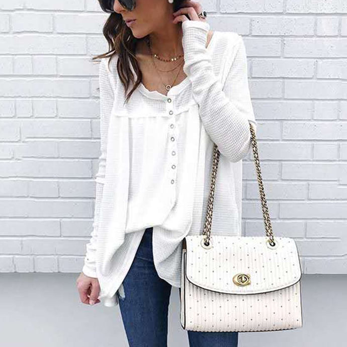 Fashion Stylish Long Sleeves Casual T-Shirt