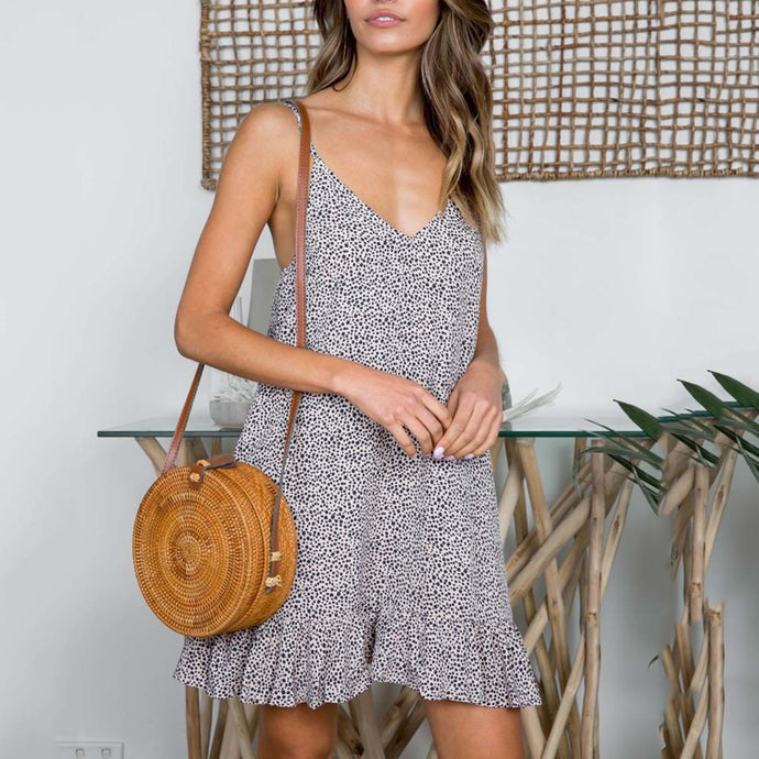 Sexy Sleeveless Mini Dress Casual Dresses