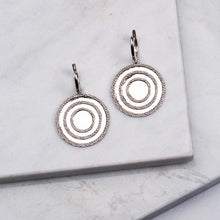 Load image into Gallery viewer, Echo Silver Drop Earrings