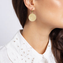 Load image into Gallery viewer, Echo Gold Drop Earrings