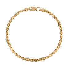 Load image into Gallery viewer, EM Exclusive Gold Rope Bracelet