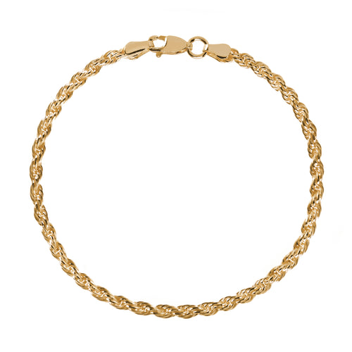 EM Exclusive Gold Rope Bracelet