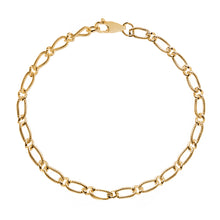 Load image into Gallery viewer, EM Exclusive Gold Figaro Bracelet