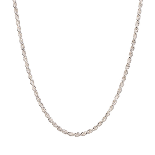 EM Exclusive Silver Rope Chain
