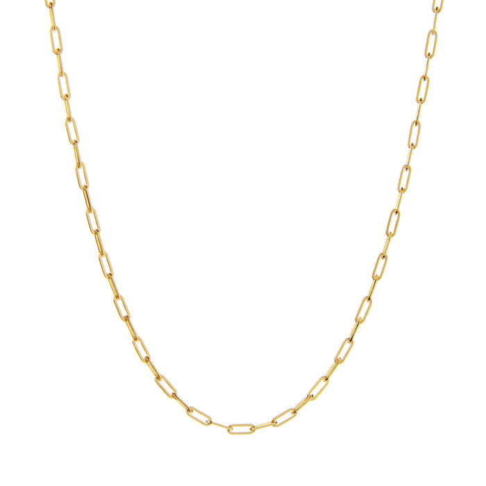 EM Exclusive Gold Link Chain