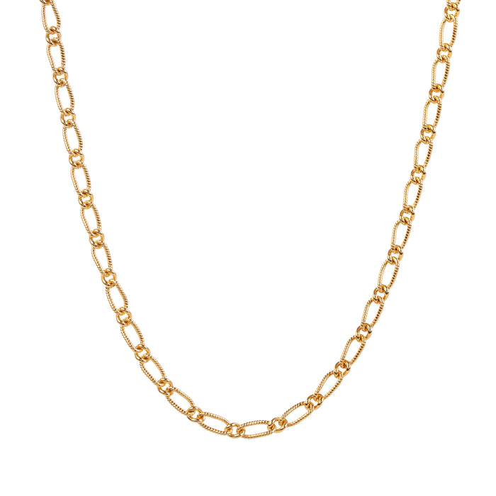 EM Exclusive Gold Figaro Chain