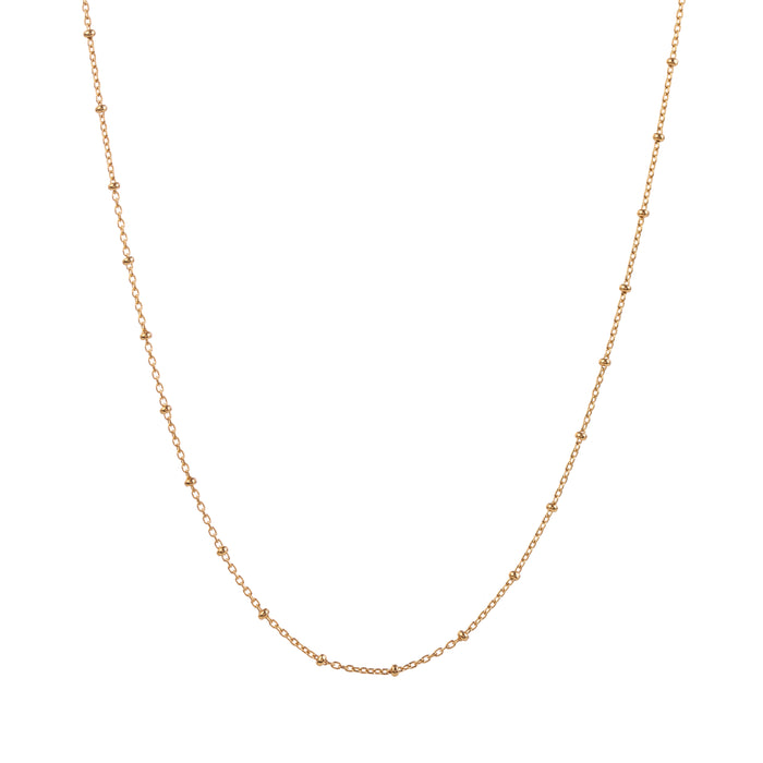 EM Exclusive Gold Beaded Chain