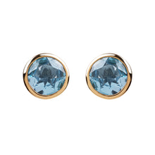 Load image into Gallery viewer, Spectrum Sky Blue Topaz Studs