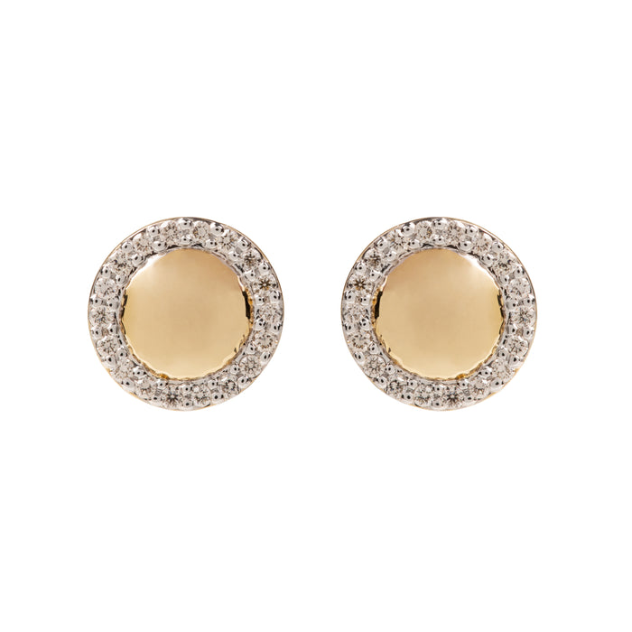 Hera Gold and Diamond Studs