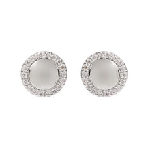 Load image into Gallery viewer, Hera White Gold and Diamond Studs