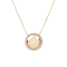 Load image into Gallery viewer, Hera Gold and Diamond Necklace