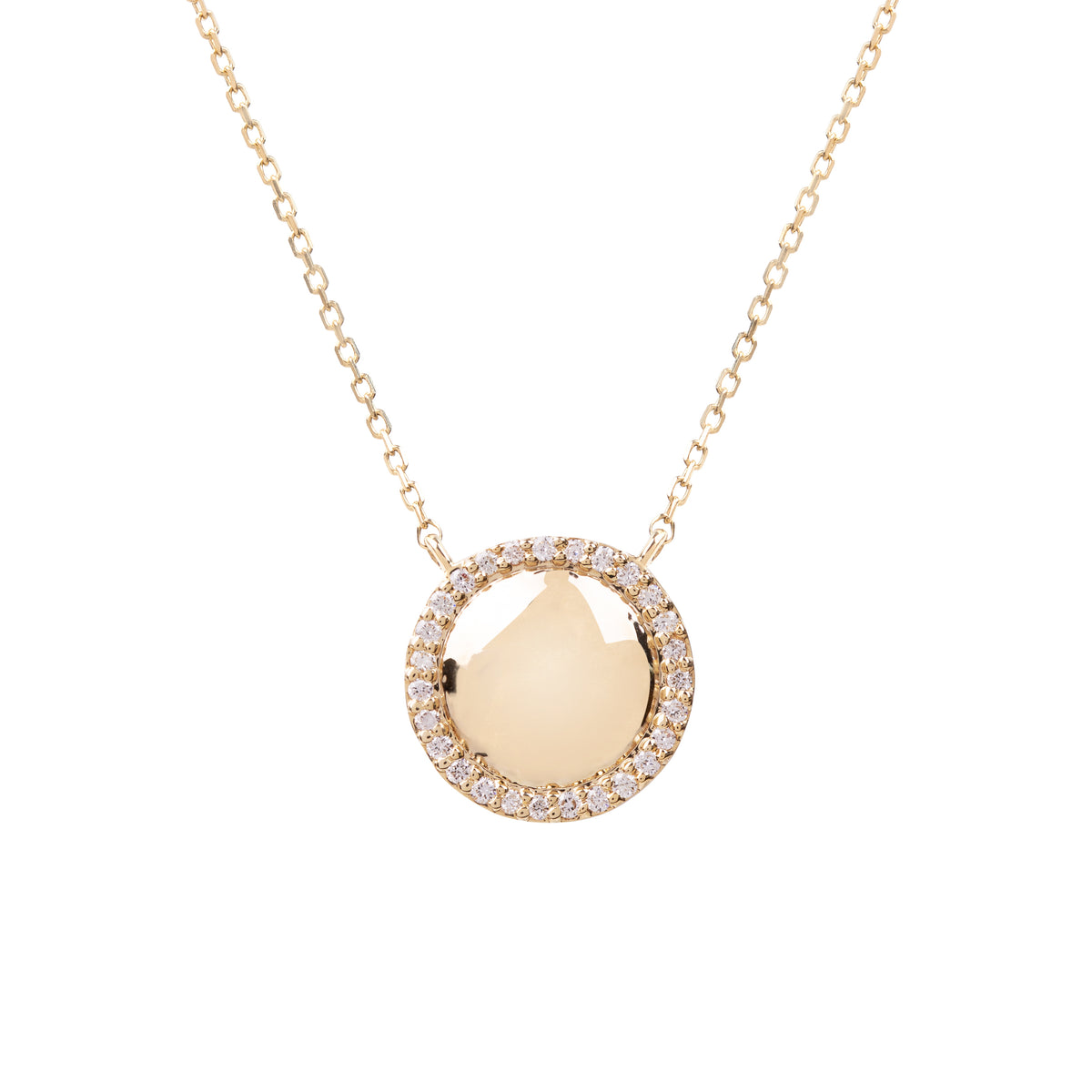 Hera Gold and Diamond Necklace