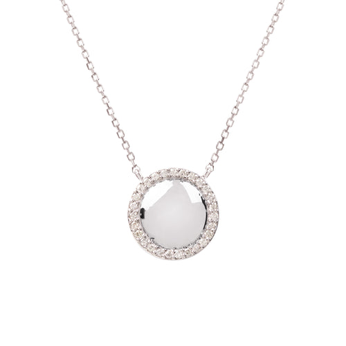 Hera White Gold and Diamond Necklace