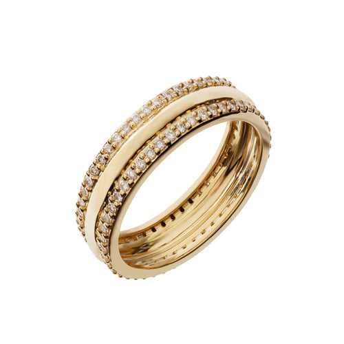 Hera Gold and Diamond Ring