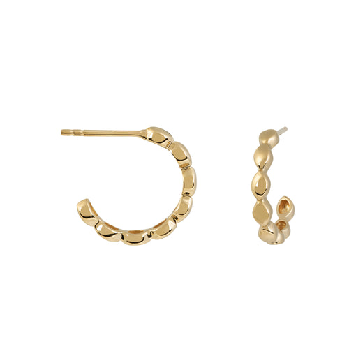 Halcyon Gold Small Hoops
