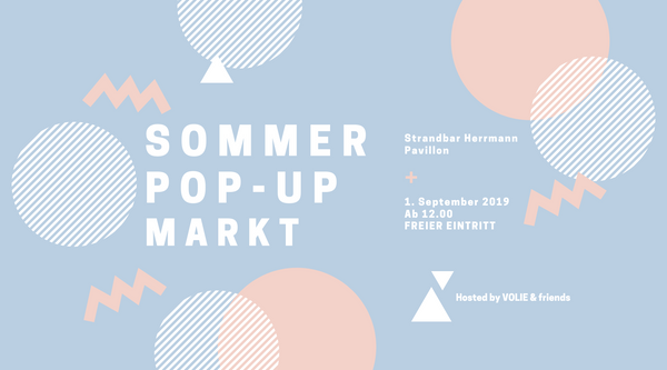 VOLIE Sommer Pop-Up Markt