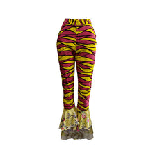 Load image into Gallery viewer, Détọ́lá Mixed Print Pants