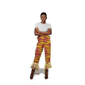 Détọ́lá Mixed Print Pants