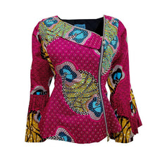 Load image into Gallery viewer, Bedazzled  Pink Tiwa Jacket