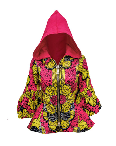 Teni A Hooded Jacket