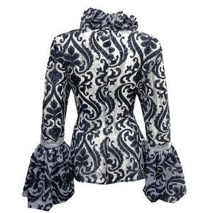 Black Print Adunni Jacket