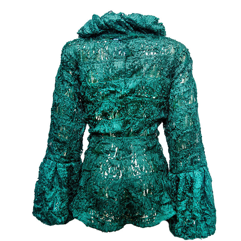 Sheer Green Adunni Jacket