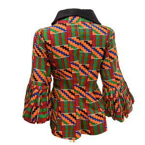 Genevieve Kente Jacket