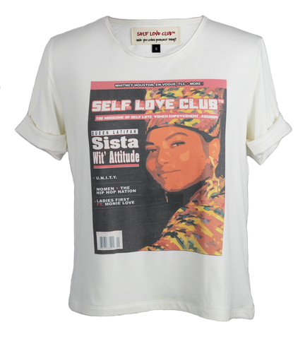 OT♡ : RETRO QUEEN LATIFAH TEE
