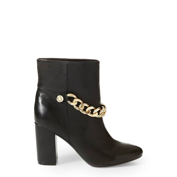Guess - FLAKN4LEA10 / Guess - FLAKN4LEA10 Obuwie Buty do kostki Guess black 38