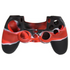 Protector Siliconen Skin PS4 Controller Silicone Hoes Playstation 4 - Zwart / Rood