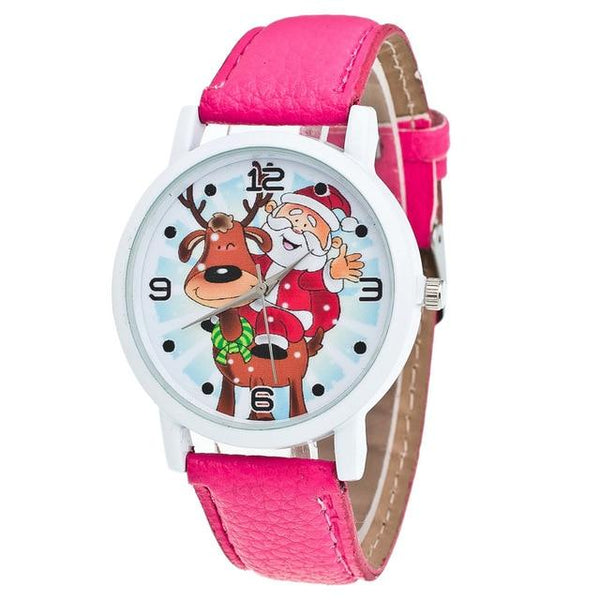 Kerstmis Analoge Quartz Vogue Horloges