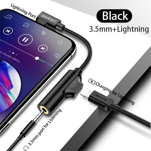 Laadkabel Jack 3.5 Auxiliary Audio Naar Type C Voor Iphone 7 8X Adapter